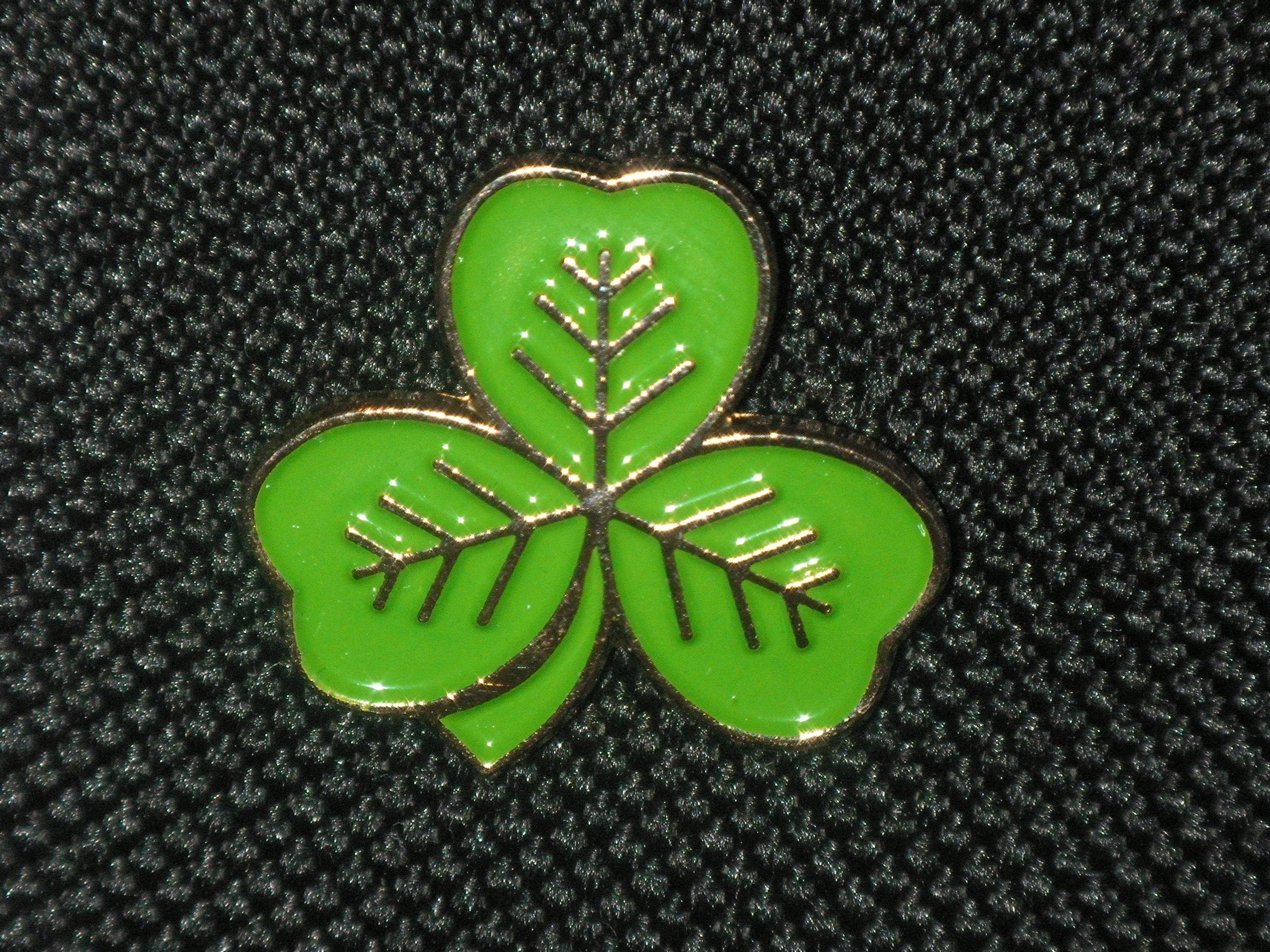 Shamrock Badges